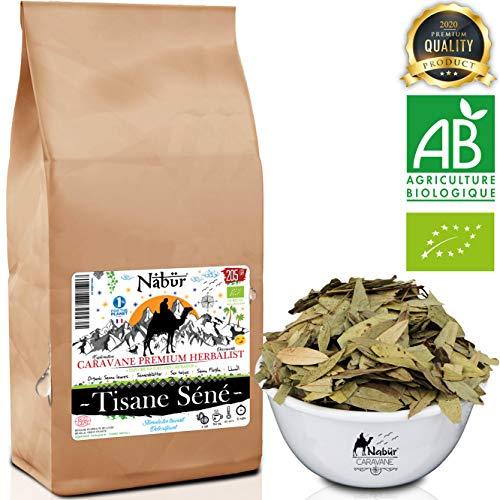 Nabür - Senna Blätter BIO Kräutertee 205 Gr | Kräutertee Detox, Gewichtsverlust Tee | Leistungsstarkes Abführmittel zur Heilung von Gewichtsverlust.