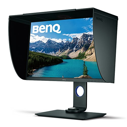 BenQ SW271 27 Inch 4K HDR Professional IPS Monitor |10-Bit with 14-Bit...
