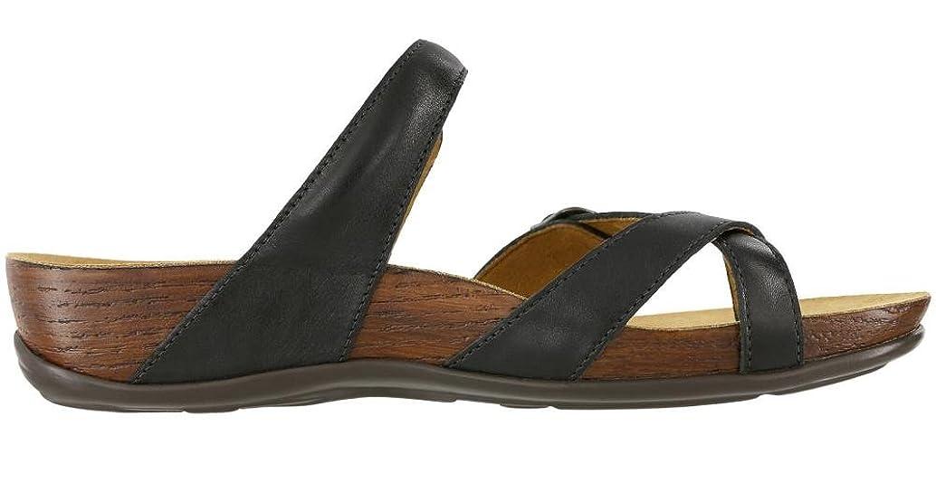 Women's SAS, Shelly Slide on Sandals Black 7.5 M