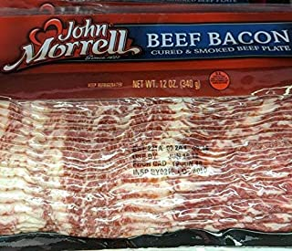 John Morrell Beef Bacon 12 Oz (6 Pack)