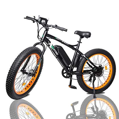 ECOTRIC Fat Tire Electric Bike Beach Snow Bicycle 26' 4.0 inch Fat...
