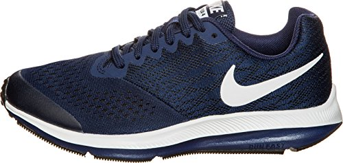 Nike Zoom Winflo 4 (GS), Zapatillas de Running Unisex Niños, Azul (Binary Blue/Black-White 401), 35.5 EU