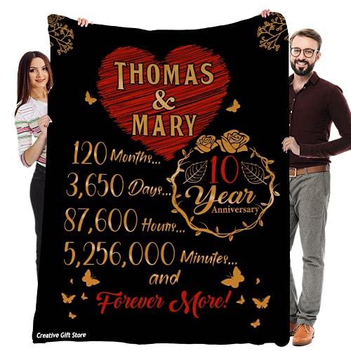 Custom Anniversary Blanket