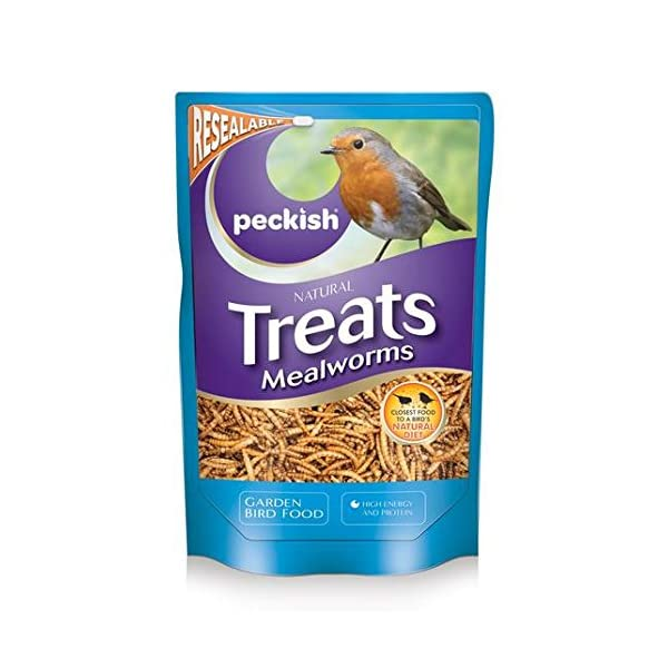 Peckish Treats Mealworms 175g