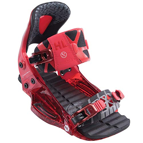 Hyperlite 2019 The System Binding Pro Wakeboard Boots Red Size 6/9