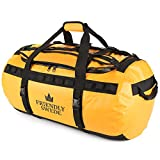 The Friendly Swede Wasserfeste Reisetasche Duffle Bag Rucksack - 30L / 60L / 90L - Seesack,...
