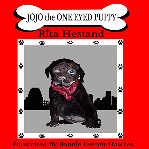 Jojo the One Eyed Puppy audiobook cover art