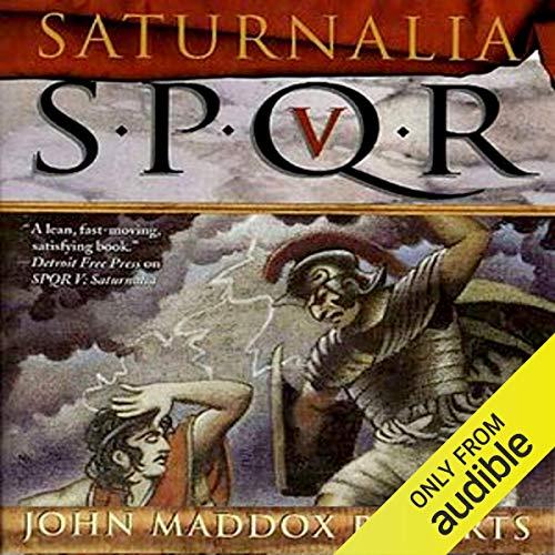 SPQR V: Saturnalia cover art