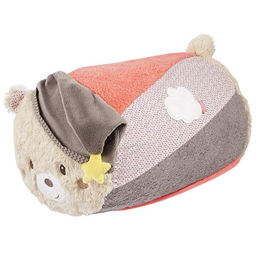 Fehn 060546 Crawling Roller Bear/Crawling Aid in Fun Bear Design for Babies and Toddlers Multi-Coloured