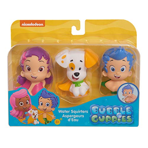 Bubble Guppies Bath Squiters 3PK Set (Gil, Oona, Bubble Puppy)
