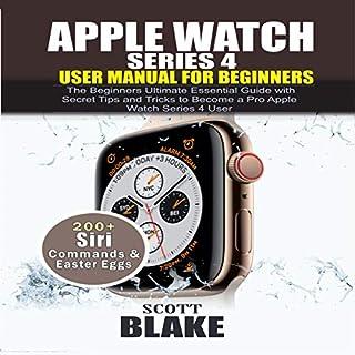 Apple Watch Series 4 User Manual for Beginners audiobook cover art