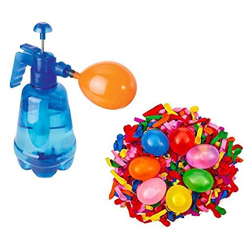 Househome - Bomba de agua para bombas de agua, tamaño grande, portátil, incluye 300 bombas de agua