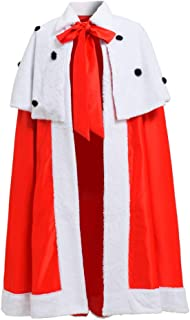 Men's King's Robe Costume and Crown Women's Queen Robe Coronation Capes Royal Capes Royal Jackets White/Red
