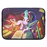 My Rainbow Pony Laptop Sleeve Case 13 Inch Neoprene Protective Case/Notebook Computer Pocket Case/Tablet Briefcase Carrying Bag Compatible/Soft Carrying Zipper Bag
