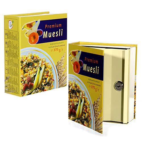 Tresor ''Müsli'' | Küche | Geldversteck | Sparen | Safe | Schmuckversteck | Spardose | Minisafe | Geschenkidee für Ferunde | Geheimversteck | Preis am Stiel®