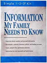Information My Family Needs to Know (Simple 1-2-3 Kit)
