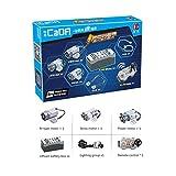 LouiseEvel215 Motor El Tren Mando a Distancia Interruptor de la Caja de la batería con luz LED Función de alimentación C61016 20086 20001 23009 Pieza de Repuesto Juego de alimentación