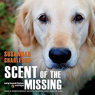 Scent of the Missing audiobook cover art