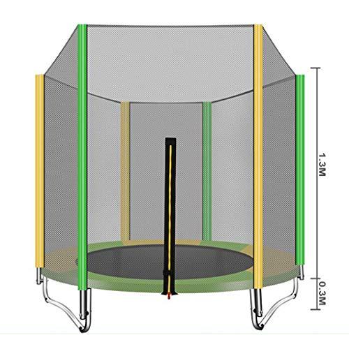 QZ Trampolin für Kinder, Sicherheitsnetz, Trampolin, Traglast: 200 kg