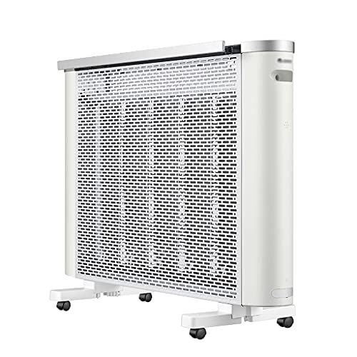 Calefactores Calentador de Mica con termostato de termostato de térmedor de convección Radiante de Radiante de termostato 4 ajustes de Calor de 12H Temporizador de 12H 2500W