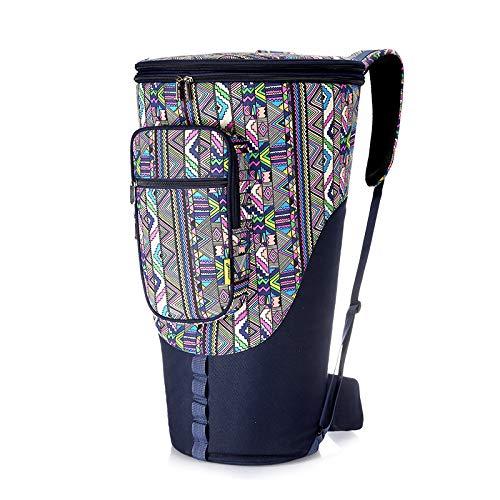 HOMDREAM Djembe Bag Borsa A Tamburo Africana in Stile Etnico per Tracolle con Maniglia per Tasca da 8/12 / 13inch,13inch