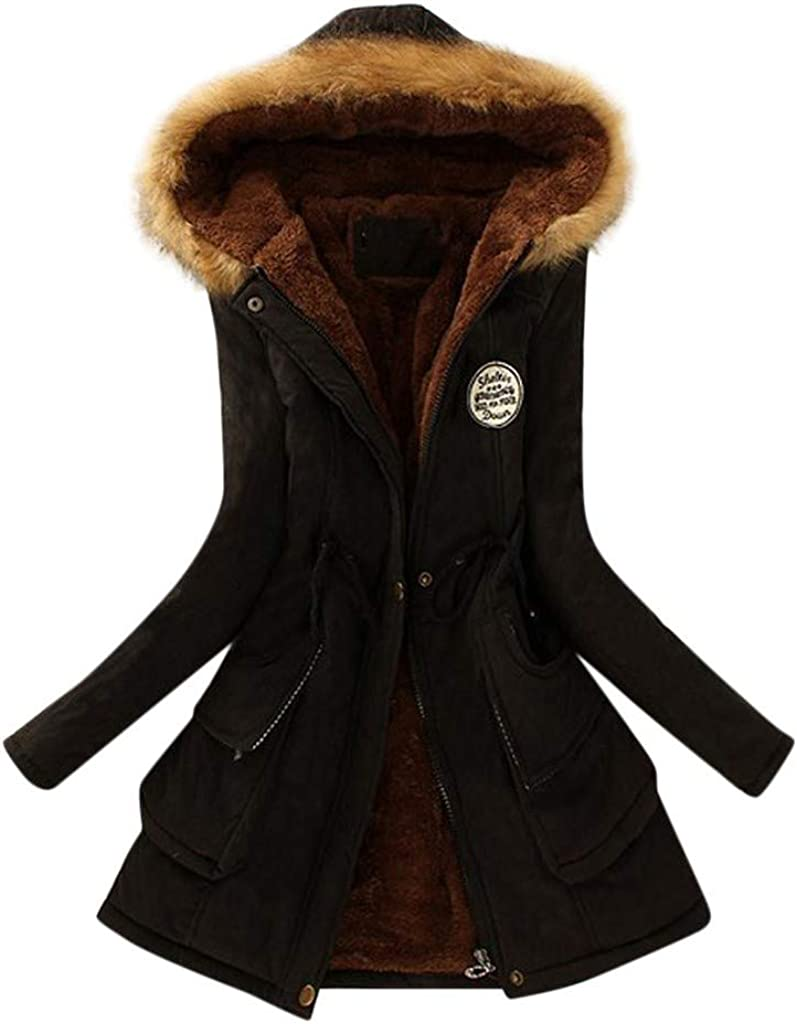 WOCACHI Womens Floral Coats Max 43% OFF Plus Size Plush Fleece Warm Save money Faux Vin