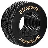 Bitspower G1/4' CaseTop Water-Fill Set, Matte Black