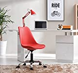 Hodedah Import Armless with Seat Cushion in Office Chair