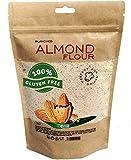 'PuNuts' Harina de Almendra 1kg, Sin Gluten 100% Natural Almond Flour