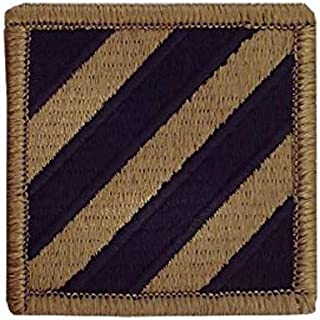3rd Infantry Division OCP Patch with Hook Fastener