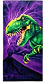 T-Rex Super Soft Plush Cotton Beach Bath Pool Towel