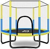 YONGYONGCHONG Bungee Jumping Trampolin-Set Gehäuse Safety Net, Fitness Firma Stable, Kind Erwachsene Guarding Net Familie Sportausrüstung (Color : Blue)