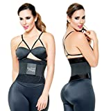 ANN MICHELL 4025 FITNESS THERMO LATEX XTREME POWER BELT BODY SHAPER GYM TRAINER BLACK SMALL