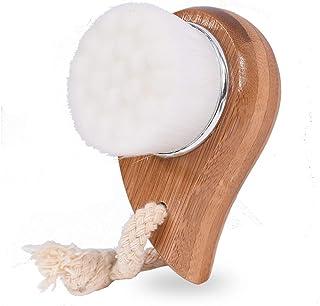 ACHICOO クリーニングブラシ ブラシ 顔クリーニングブラシ 洗顔用 マイクロファイバー 白