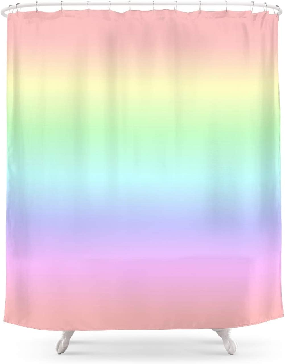 Soft Pastel Rainbow by Nataliecatlee on In a Rare popularity x 71