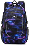Backpack Bookbag for School College Student Travel Business Hiking Fit Laptop Up to 15.6 Inch...