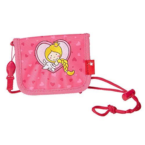 SIGIKID Mädchen Pinky Queeny Brustbeutel für Kinder, 10x12,5x2 cm, Pink, 24915