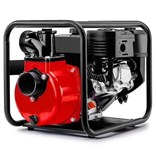 Warton 8HP 235cc 3 Inch Petrol High Flow Water Transfer Pump
