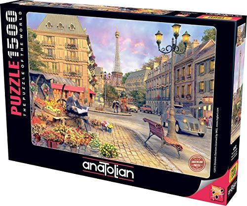 Anatolian Paris Street Life Jigsaw Puzzle (1500 Piezas)
