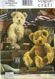 Best vogue teddy bear pattern Reviews