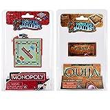 World's Smallest Board Games Bundle Set of 2 Monopoly - Ouija