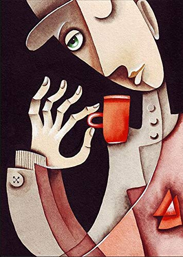 BJWQTY Picasso decoracin del hogar, decoracin de la Sala de Estar, Carteles e imgenes de Arte de Pared, 50x70cm Pintura en Lienzo sin Marco