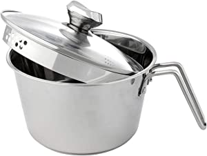 Wolfgang Puck 12-Cup Stainless Steel Pot with Colander Lid Model 695-303 (Renewed)