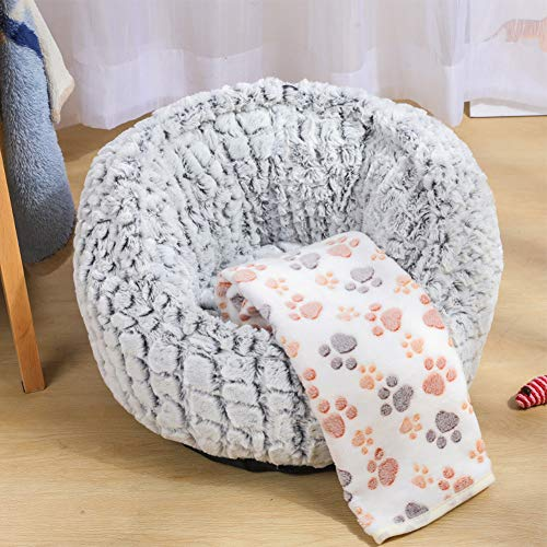 TIANPIN Kattennest Kennel Winter Warm Creatief Rond Huisdier Hond Katten Bed Kattennest Pad Plus Cashmere Huisdier Bed Bed Pet Herfst Winter Warm Katten Slaapzak