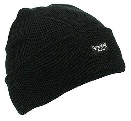 Thinsulate 8O-UVZ4-G6OZ Bonnet Unisexe Noir Taille Unique
