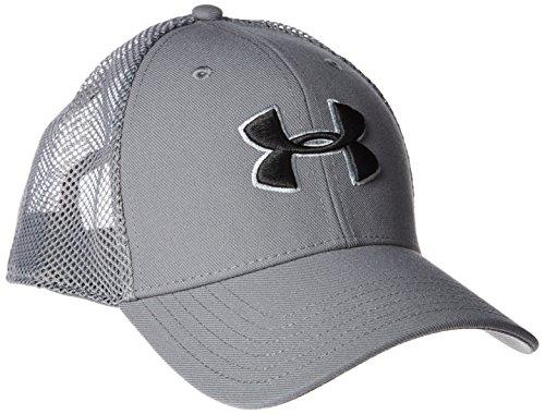Men's Under Armour Closer Trucker Hat Graphite/Steel/Black Size One Size