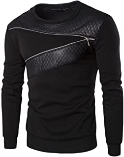 Best faux leather collar jumper Reviews
