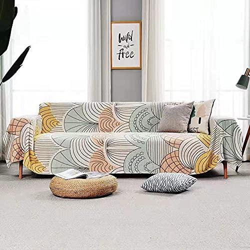 haoyunlai Camping Beach Blanket Decor Pure cotton sand towel casual sofa blanket TV carpet bed blanket dustproof tablecloth-shell_150 * 160cm