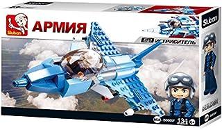 سلوبن لعبة تركيب طائرة مقاتلة ، 134 قطعة ،125789
