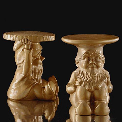 Kartell 883295 Gartenzwerg-Hocker Gnome Napoleon, gold - 4